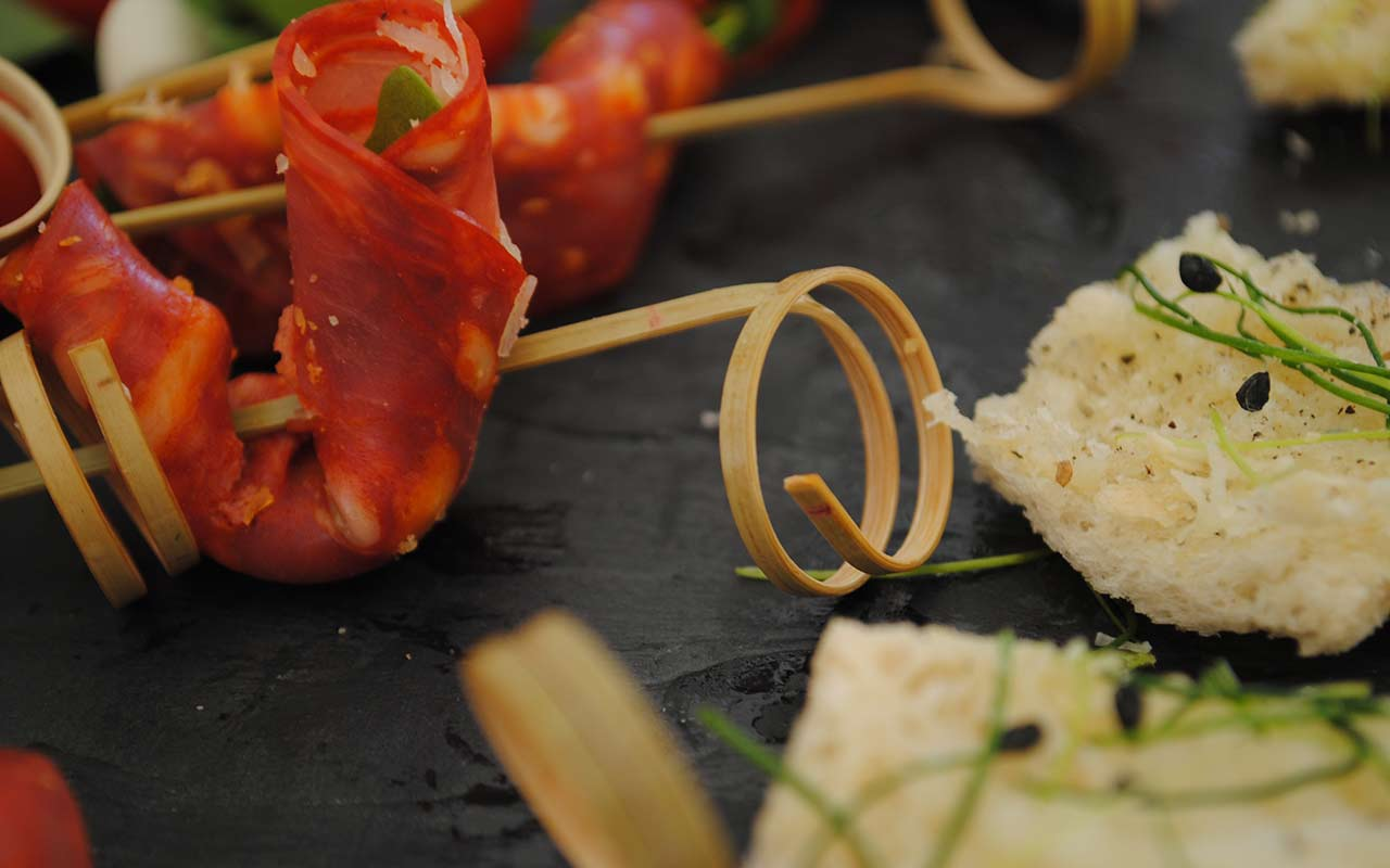 Perfectly created canapes
